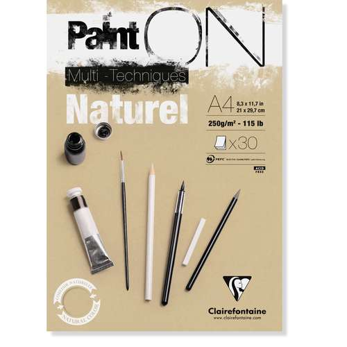 Papel Paint On Naturel Clairefontaine